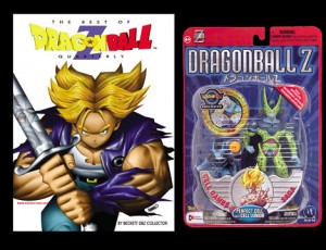 DBZ Exclusive Action figure and Bi-Monthly Magazine